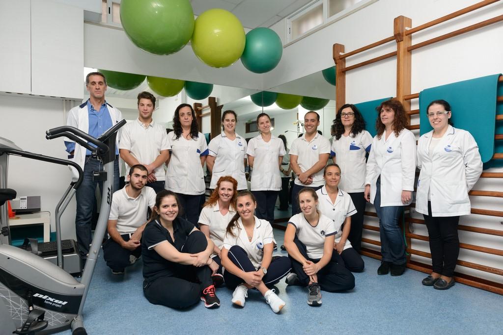 a equipa do Centro Reabilitação de Coimbra